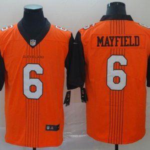 Men's Cleveland Browns 6 Baker Mayfield jersey